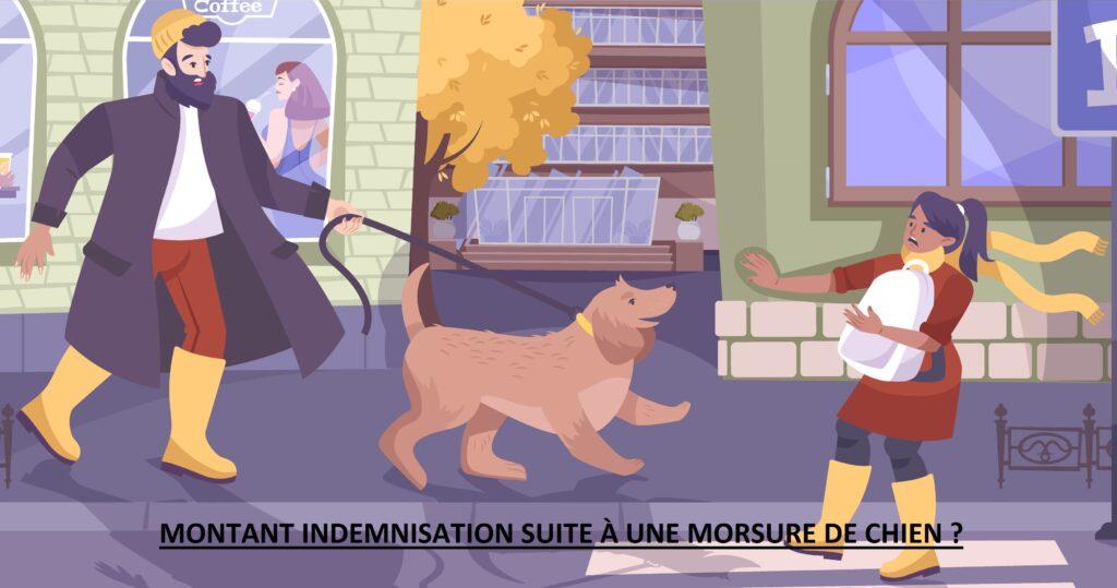 Montant indemnisation morsure chien